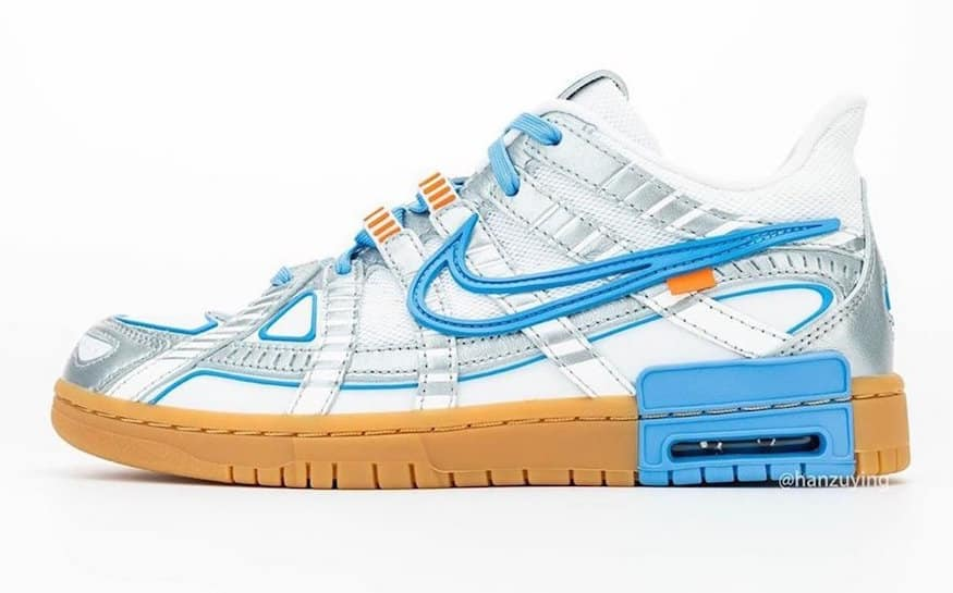 Preview: Off White x Nike Air Rubber Dunk University Blue