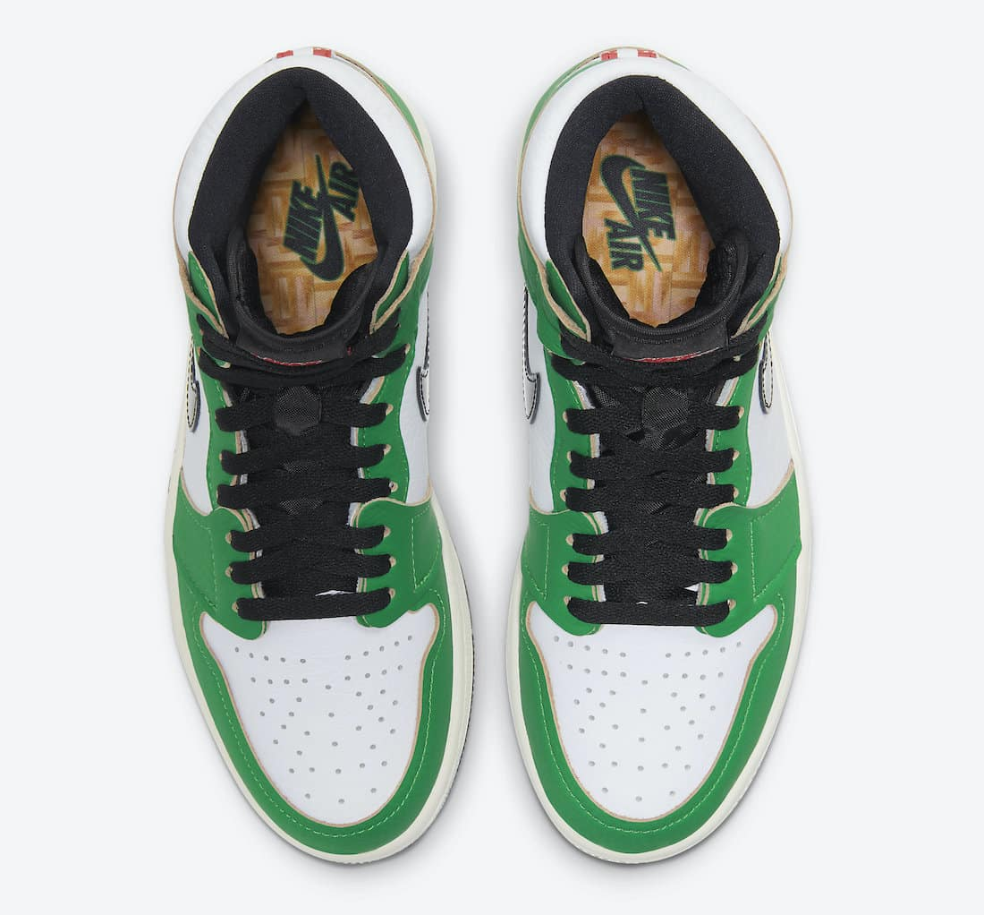 Air Jordan 1 WMNS Lucky Green - Gov