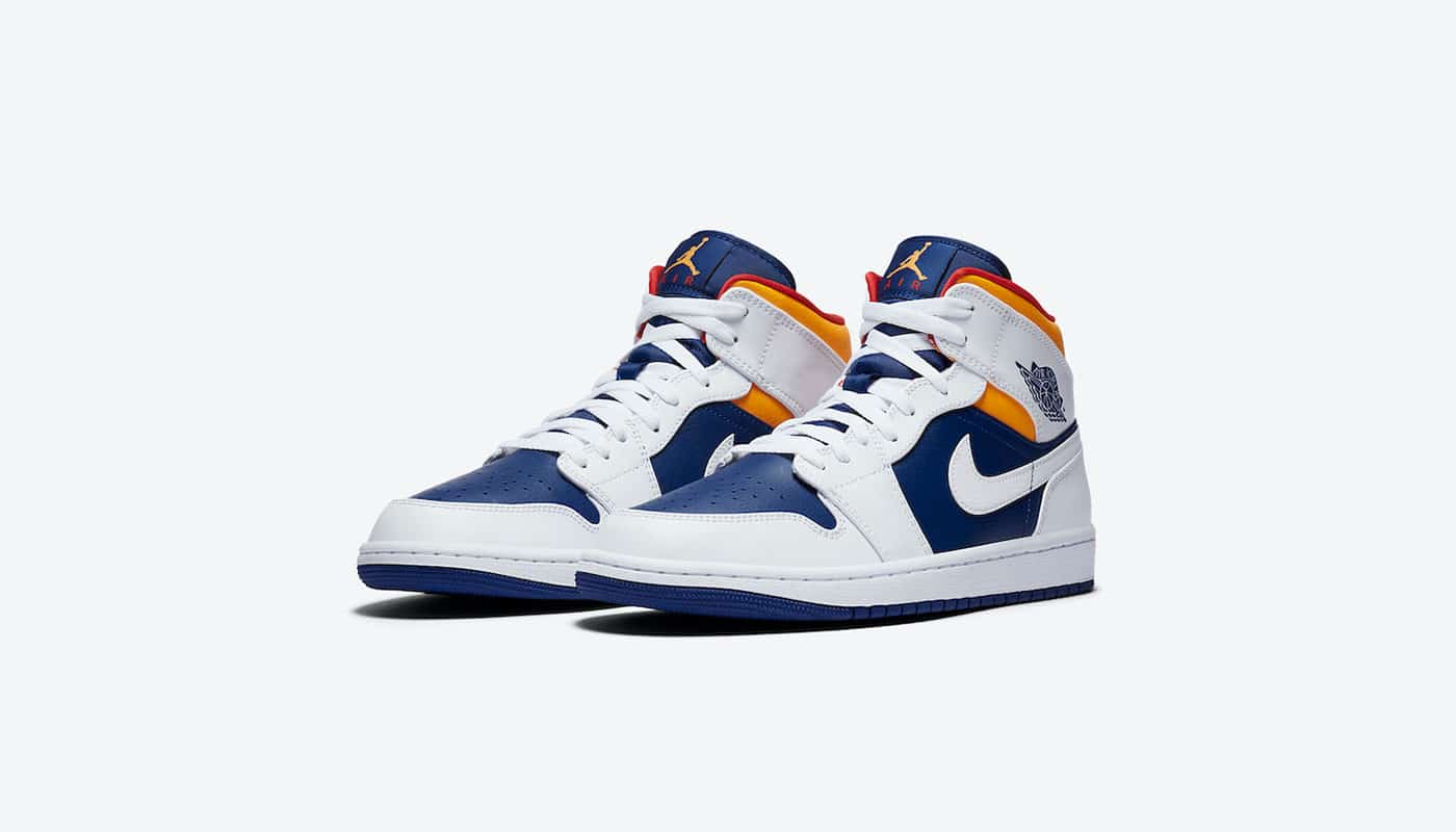 air jordan bleu blanc rouge