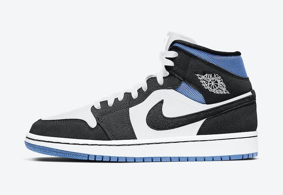 Preview: Air Jordan 1 Mid WMNS Blue Mesh Le Site de la Sneaker