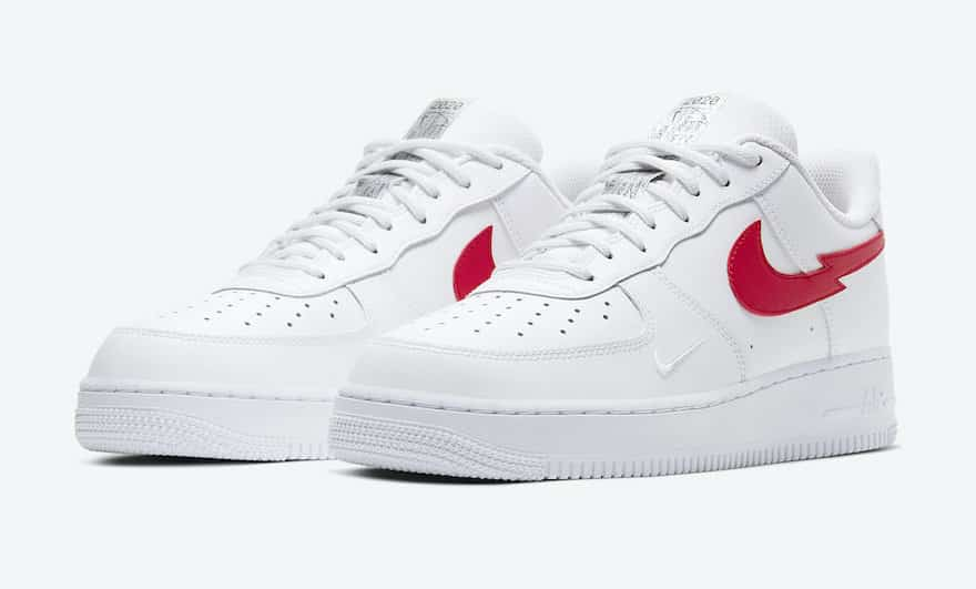 Nike Air Force 1 07 3 BlancRouge