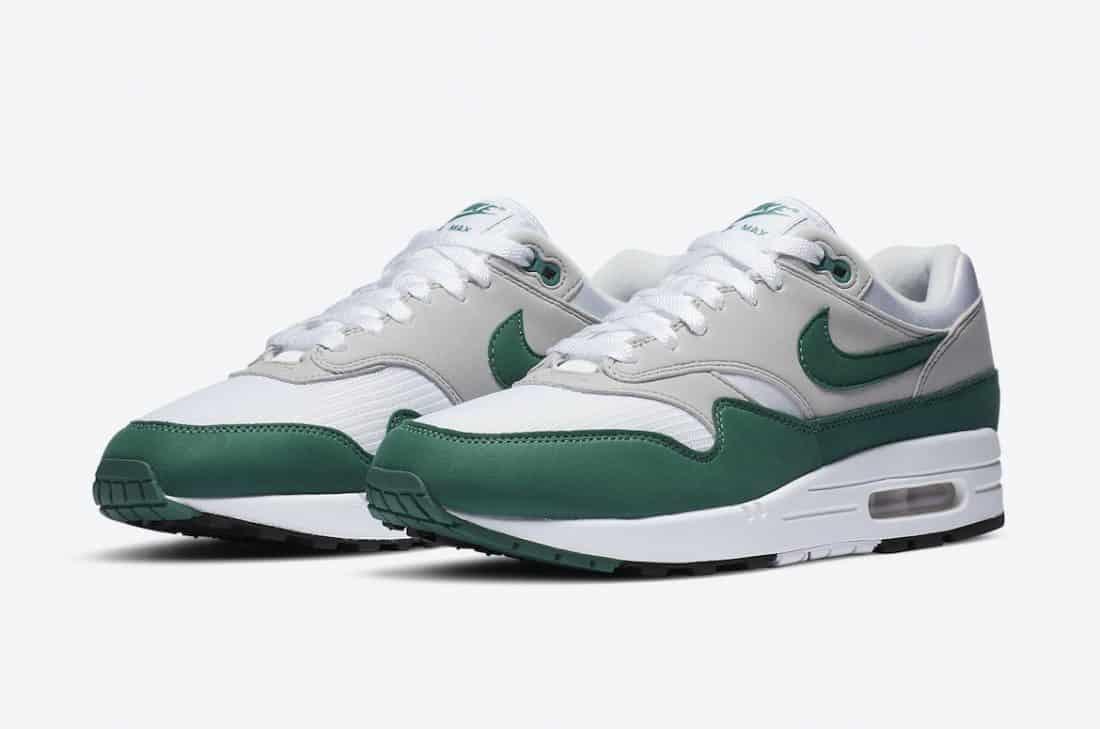 Nike Air Max 1 Anniversary Hunter Green - Le Site de la Sneaker