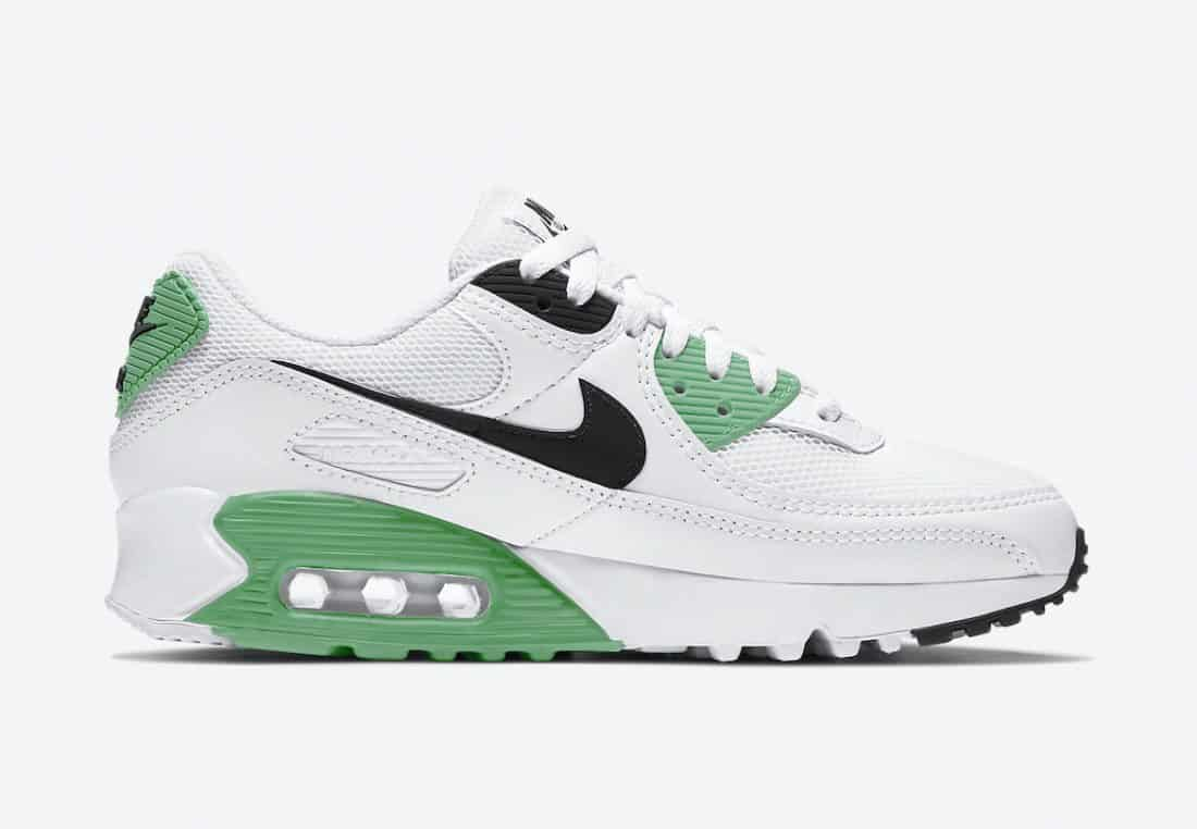 Preview: Nike Air Max 90 White Green - Providenceresearch