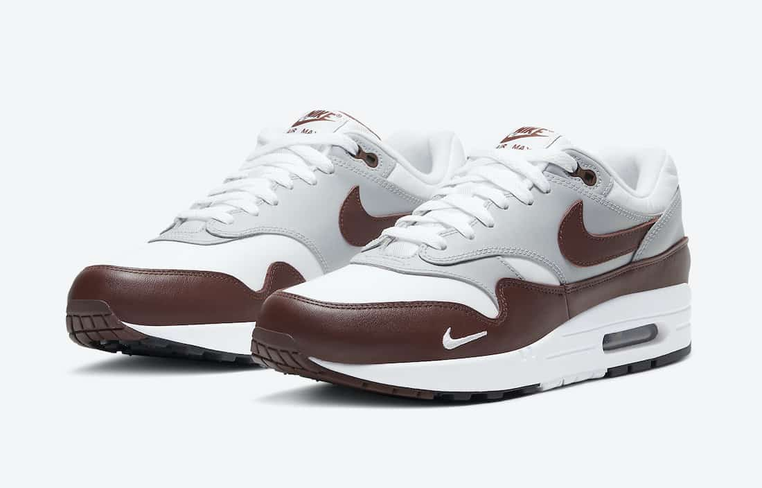 Preview: Nike Air Max 1 Leather Brown - Le Site de la Sneaker