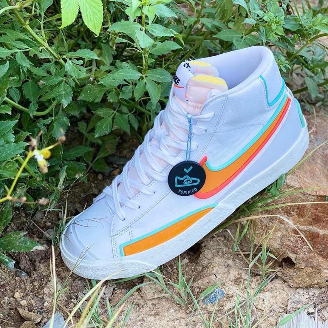 Preview: Nike Blazer Mid '77 Kumquat - Gov