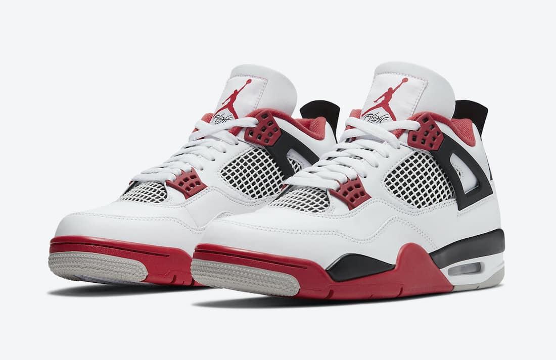 Air Jordan 4 Fire Red - Le Site de la Sneaker