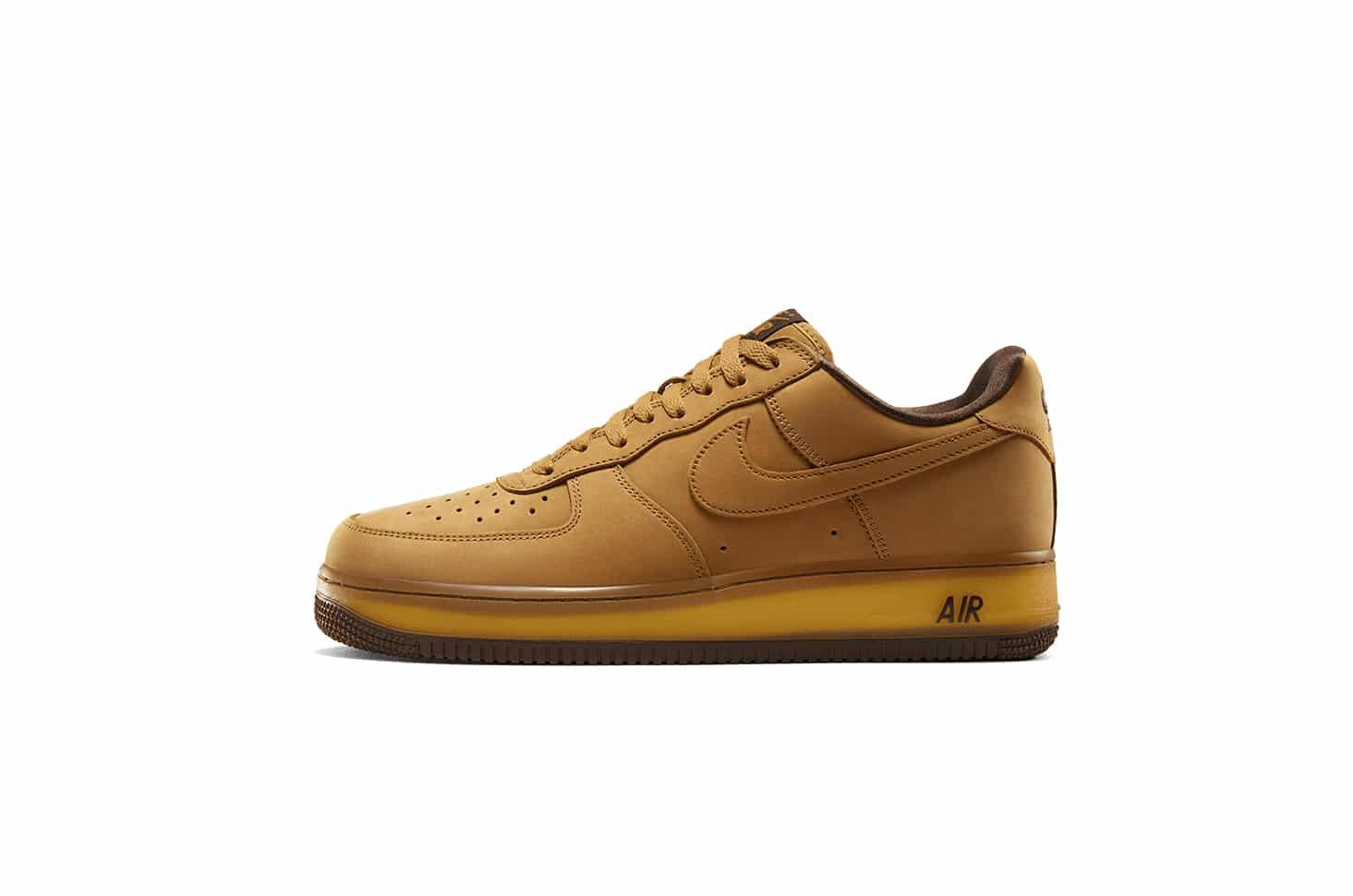 Nike Air Force 1 Low Wheat Mocha - Gov