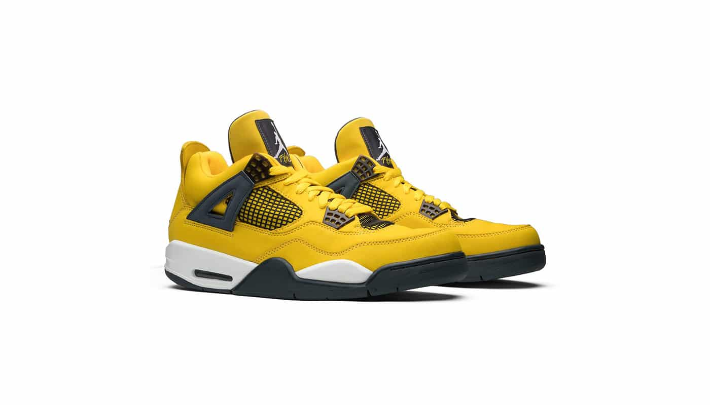 La Air Jordan 4 Lightning de retour en 2021 ? - Le Site de la Sneaker