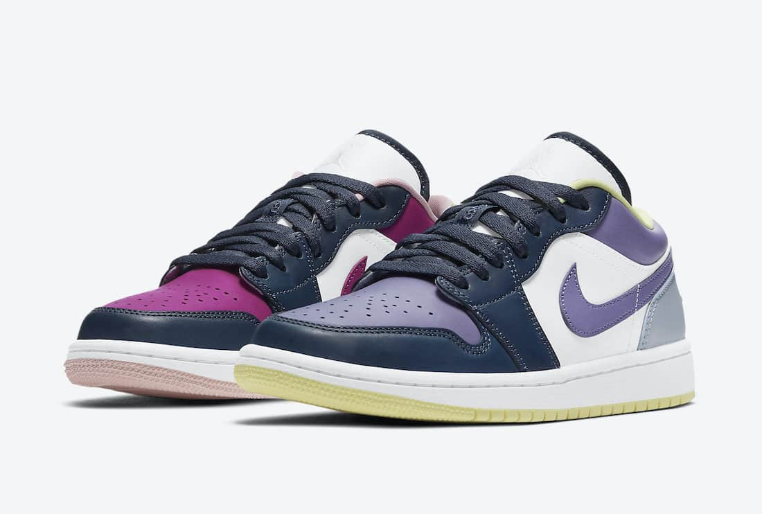 "Air Jordan 1 Low ""Mismatch"""