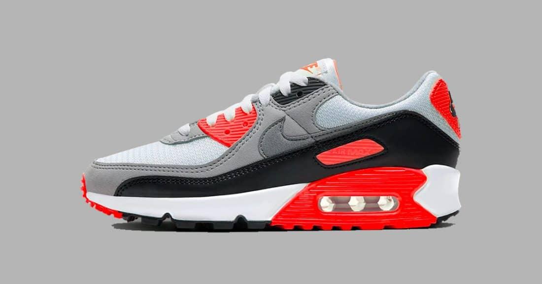 La Nike Air Max 90 Infrared 2020 en détails - Le Site de la Sneaker
