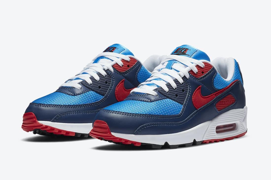 Preview: Nike Air Max 90 Photo Blue - Le Site de la Sneaker