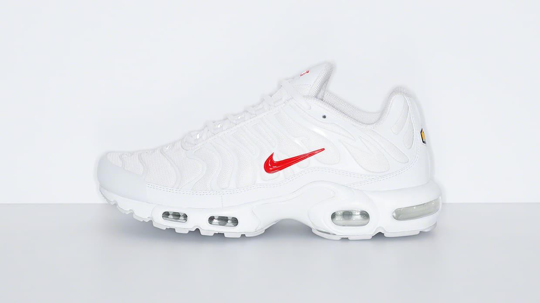 Supreme x Nike Air Max Plus White Red - Le Site de la Sneaker