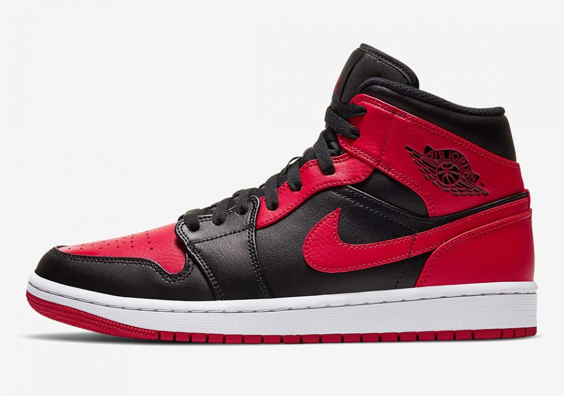 Air Jordan 1 Mid Banned - Le Site de la Sneaker
