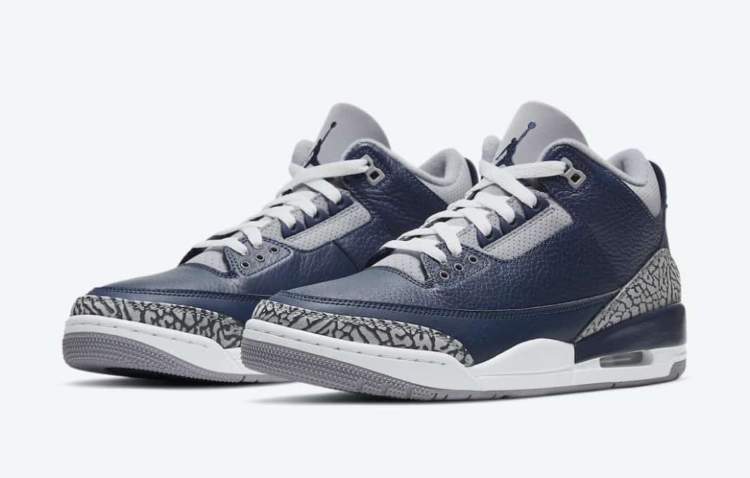 Air Jordan 3 Midnight Navy