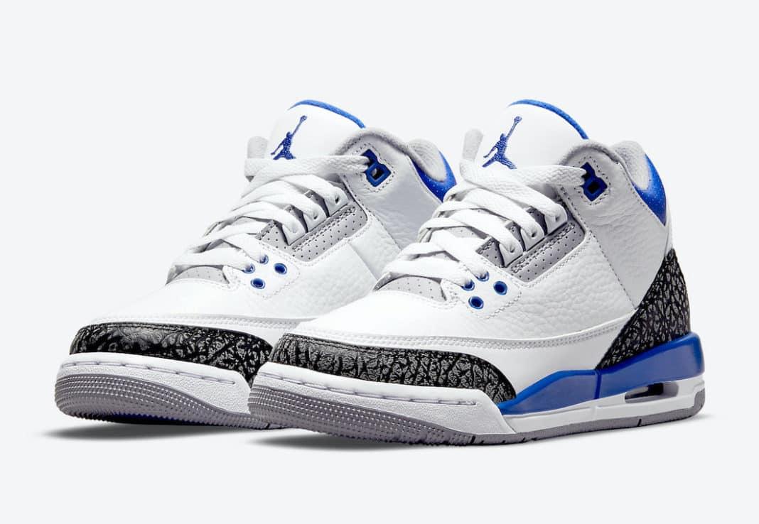 Air Jordan 3 « Racer Blue »