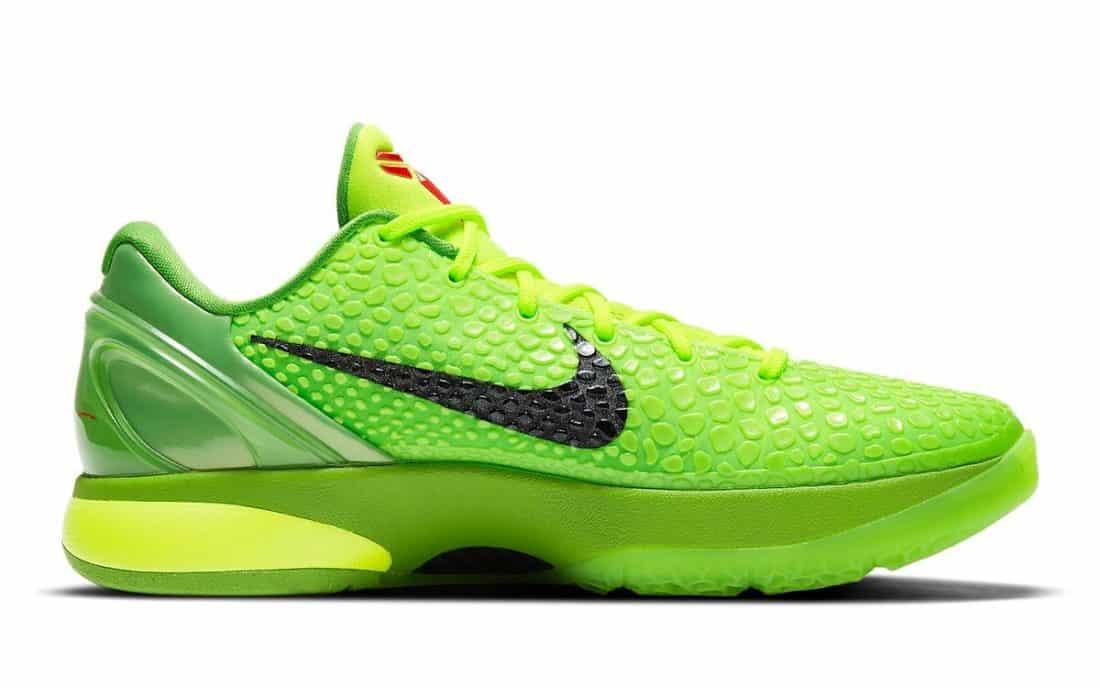 "Nike Kobe 6 Protro ""Grinch"""