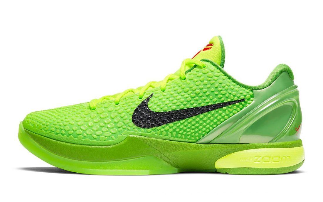 """Nike Kobe 6 Protro """"Grinch"""" - Gov"""