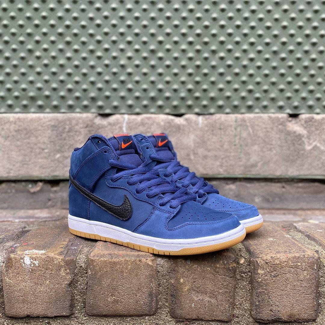 Une nice kicks nike foamposite shoes black sneakers Pro ISO Navy ...