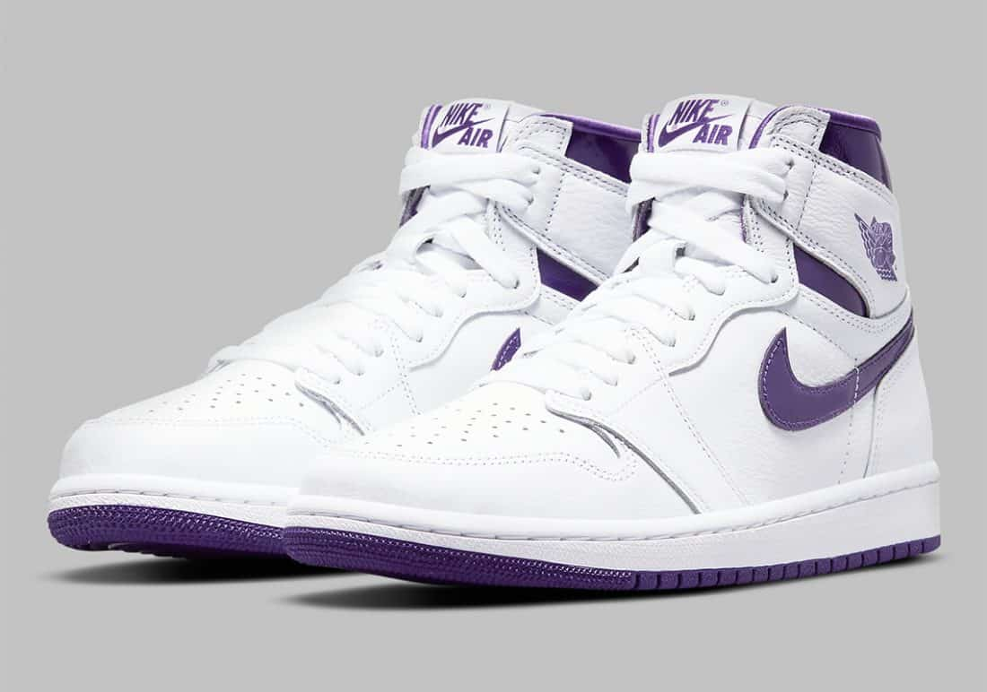 Air Jordan 1 High « Court Purple »