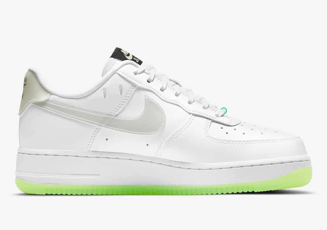 """Nike Air Force 1 Low """"Have A Nike Day"""" White Glow"""