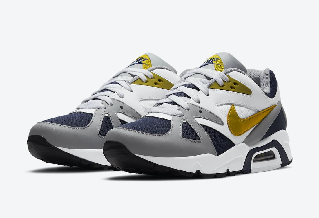 "Nike Air Structure Triax 91 ""Dark Citron"""