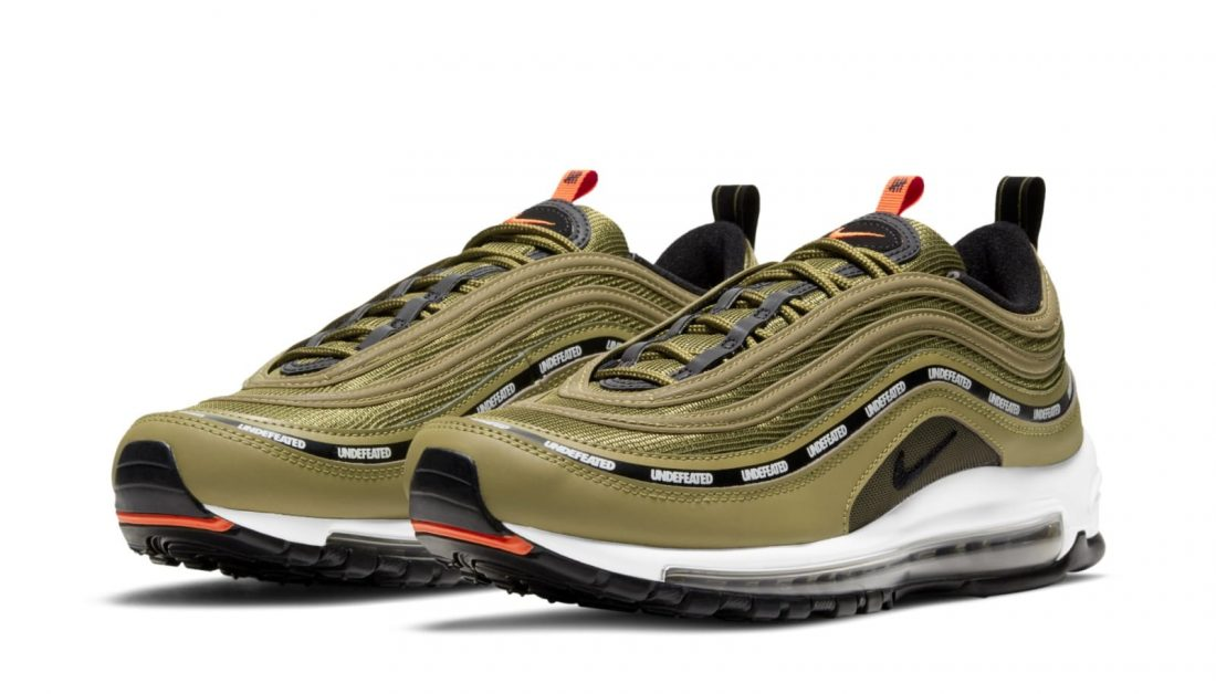 """UNDEFEATED x Nike Air Max 97 """"Flight Jacket"""""""