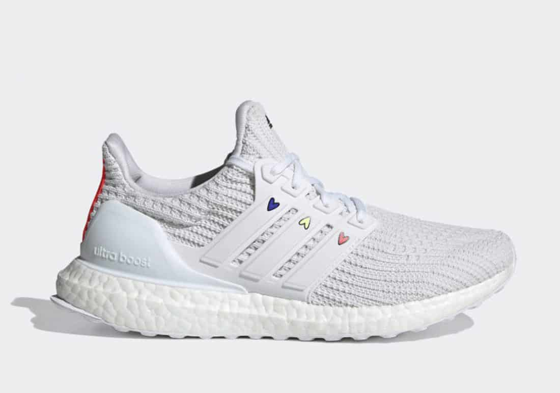 """adidas Ultra Boost 4.0 DNA """"Hearts"""" White"""