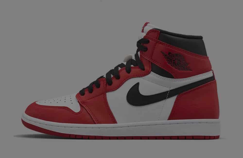 Une Air Jordan 1 High OG aux couleurs des Chicago Bulls - Gov