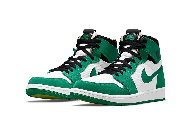 "Air Jordan 1 Zoom CMFT ""Stadium Green"""