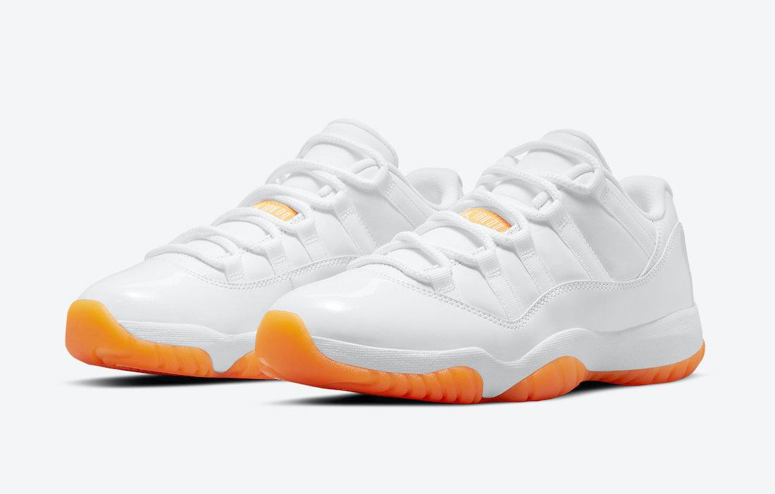 """Air Jordan 11 Low WMNS """"Bright Citrus"""""""