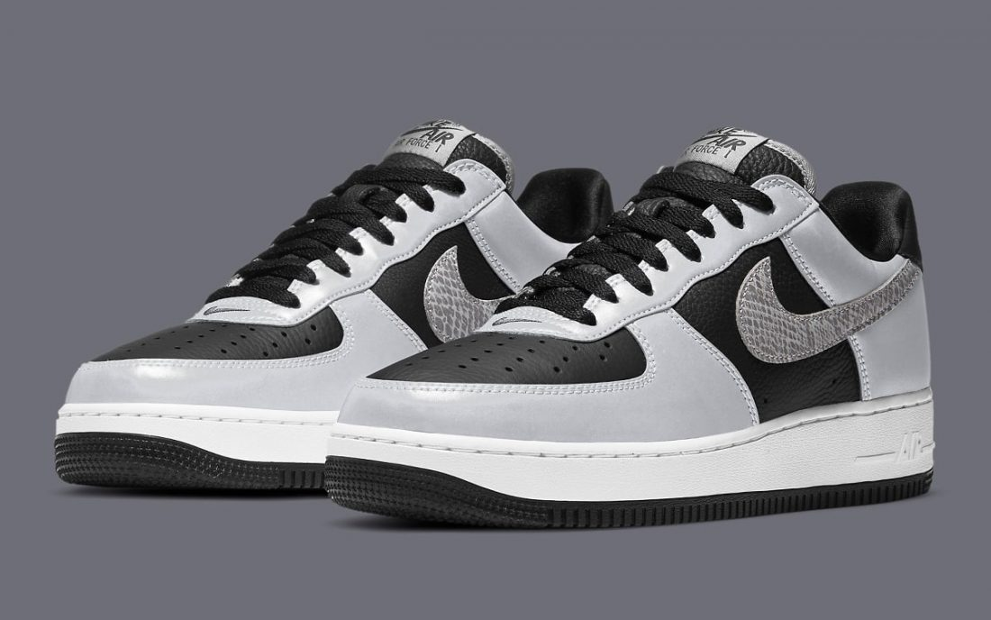 "Nike Air Force 1 B ""Reflective Snakeskin"""