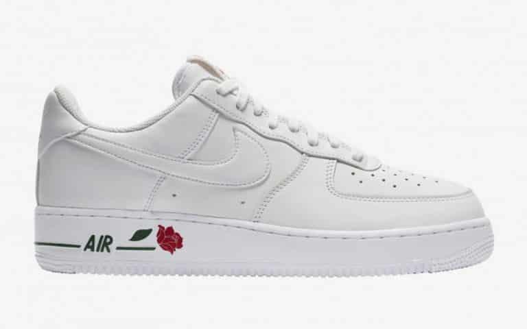 "Nike Air Force 1 Low ""Rose"" White"