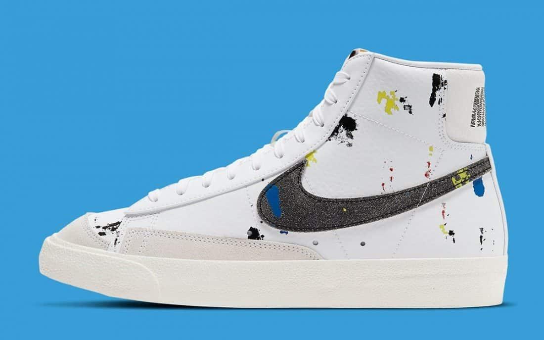 Une Nike Blazer Mid