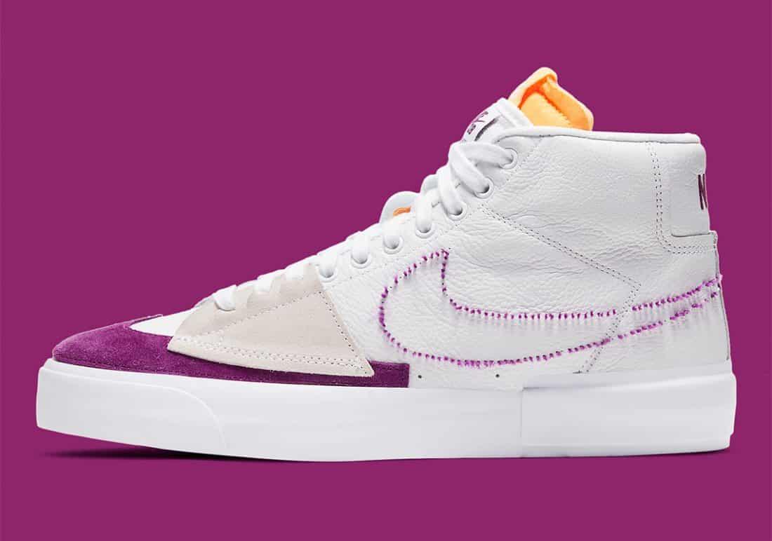 Une Nike SB Blazer Mid Edge