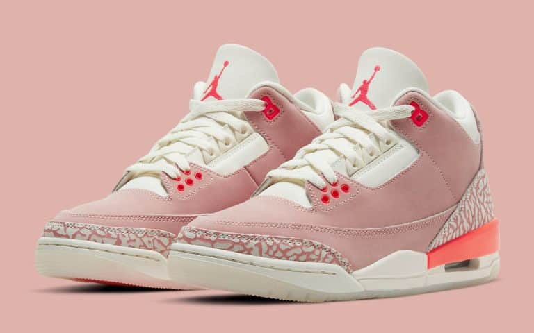 Air Jordan 3 Rust Pink