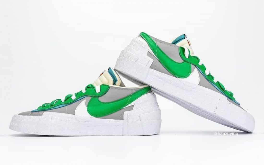 Un nouvel aperçu de la sacai x Nike Blazer Low