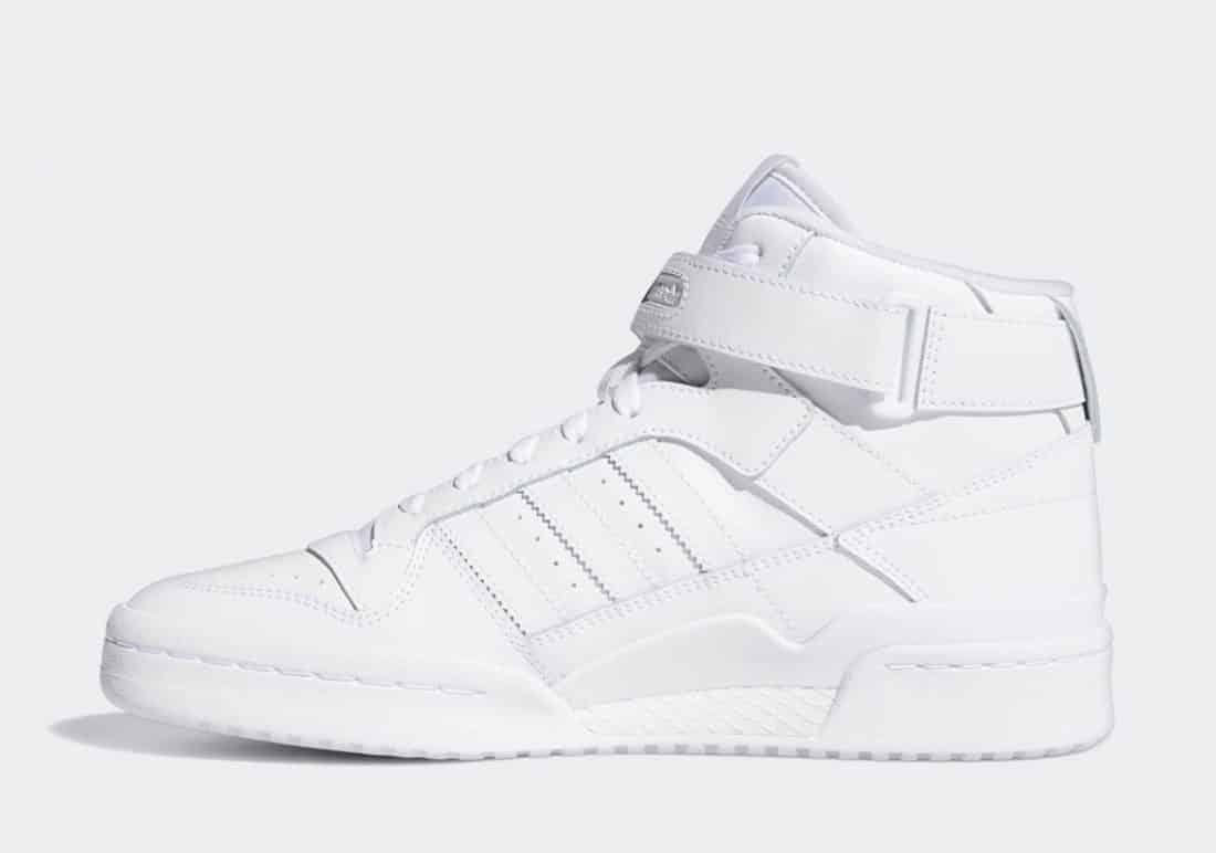 """adidas Forum Mid """"Triple White"""""""