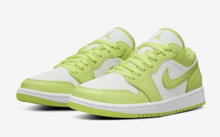 """Une Air Jordan 1 Low """"Limelight"""" à l'horizon - Le Site de la Sneaker"""