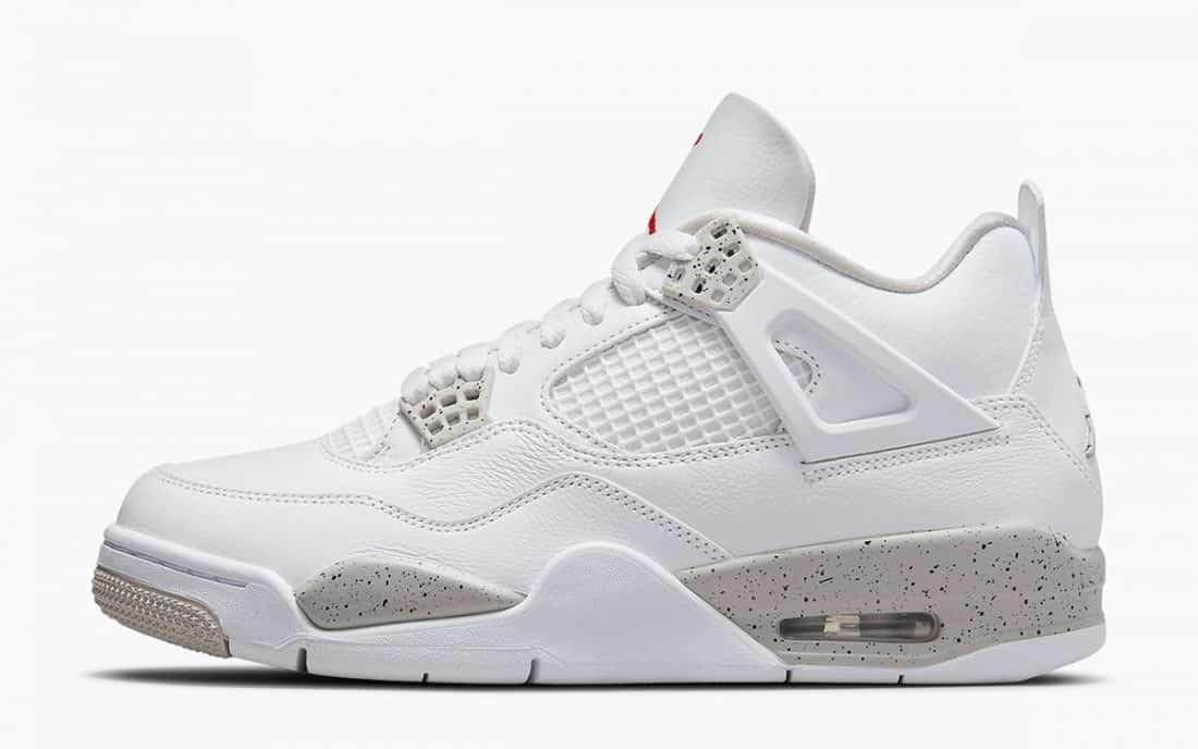 Air Jordan 4 Retro White Oreo - Le Site de la Sneaker