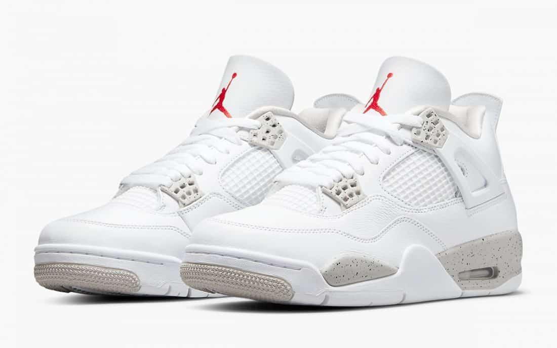 Air Jordan 4 Retro « White Oreo »