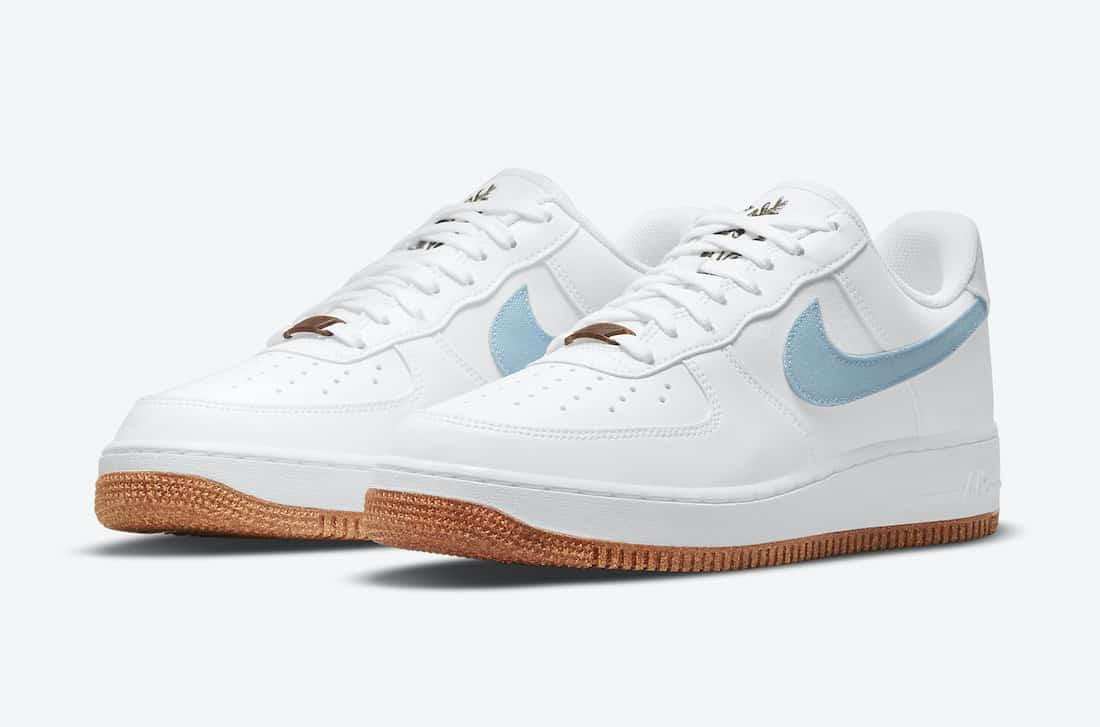"""Nike Air Force 1 Low """"White Indigo"""""""
