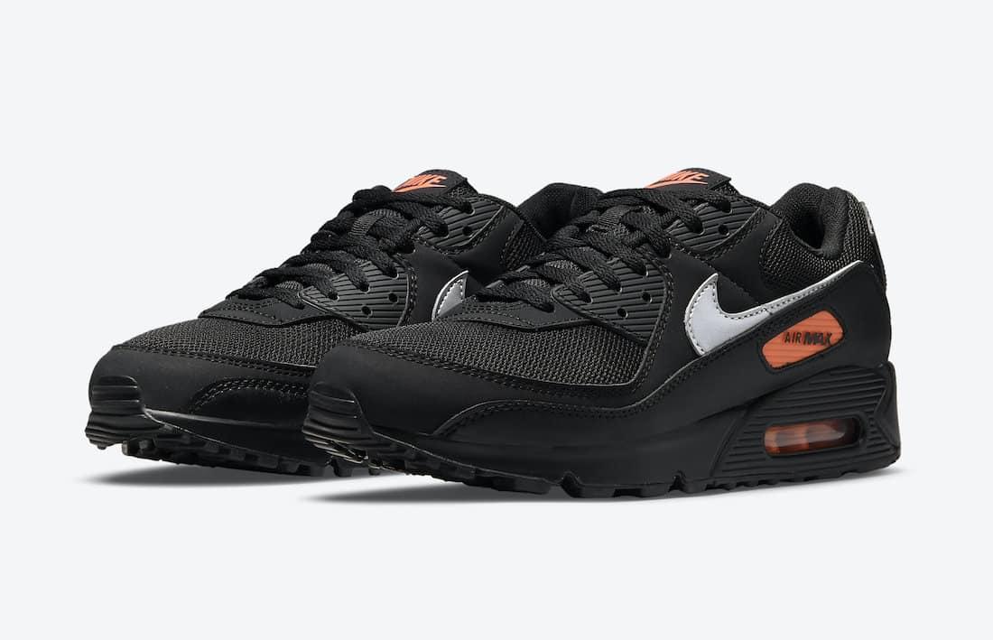 """Une Nike Air Max 90 """"Black Orange"""" à l'horizon - Le Site de la Sneaker"""