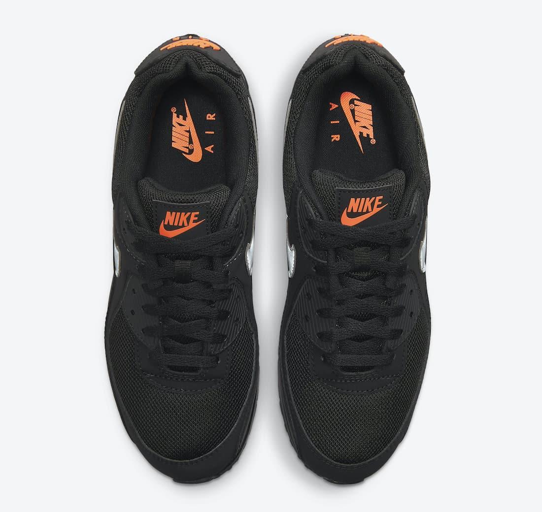 "Une Nike Air Max 90 ""Black Orange"" à l'horizon - Zemeds"