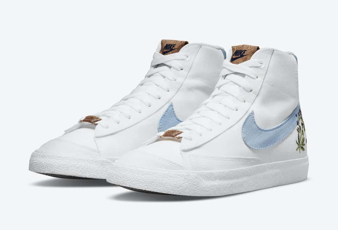 """Nike Blazer Mid 77 """"White Indigo"""""""