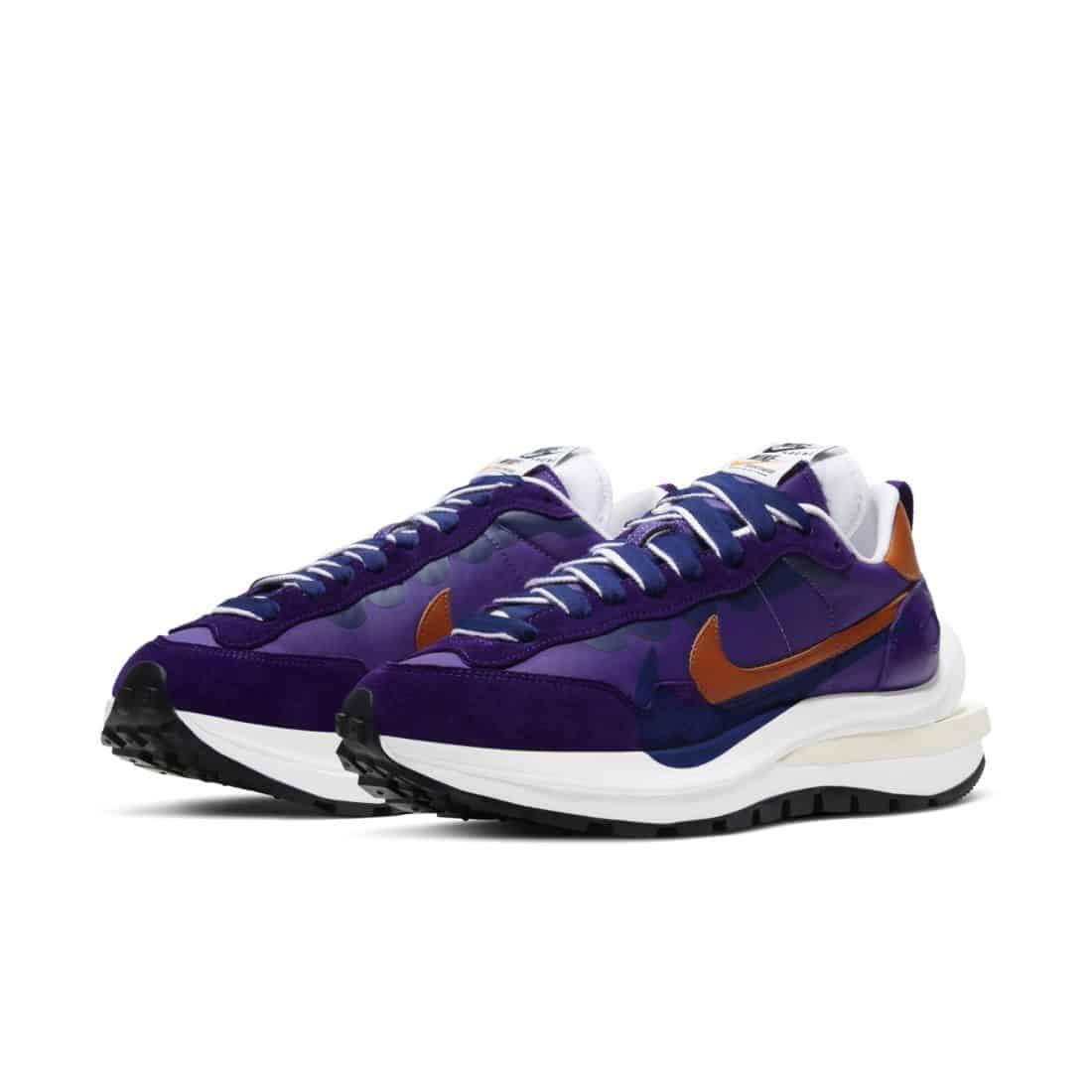 """sacai x Nike VaporWaffle """"Dark Iris"""""""