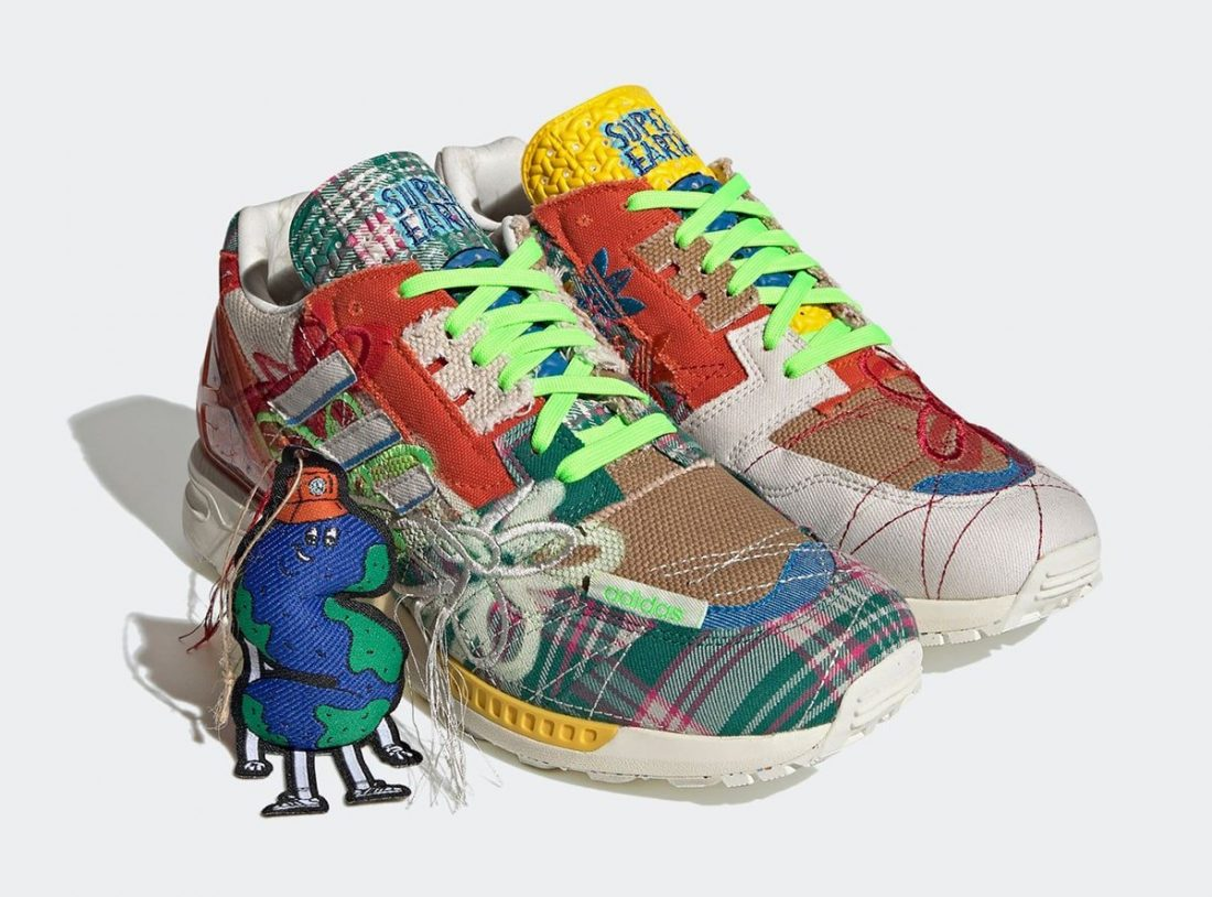 """Sean Wotherspoon x adidas ZX 8000 """"SUPEREARTH"""""""