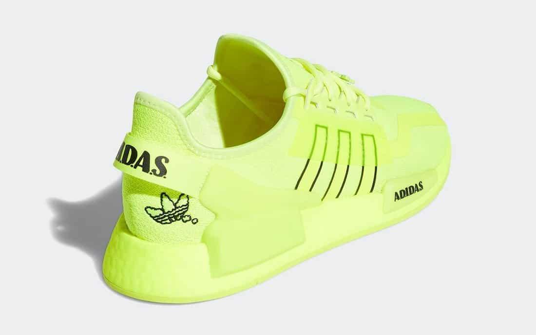 "adidas NMD R1 V2 ""Solar Yellow"" - Zemeds"