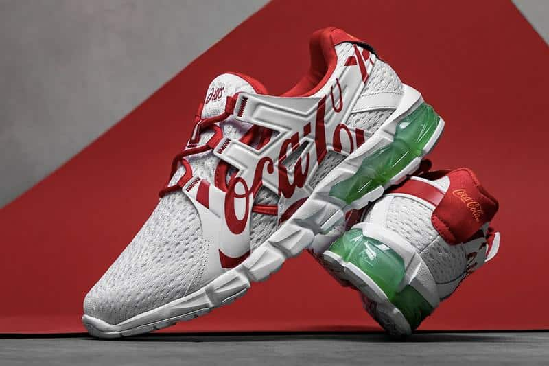 """Coca-Cola x Asics GEL-Quantum 90 """"White"""""""