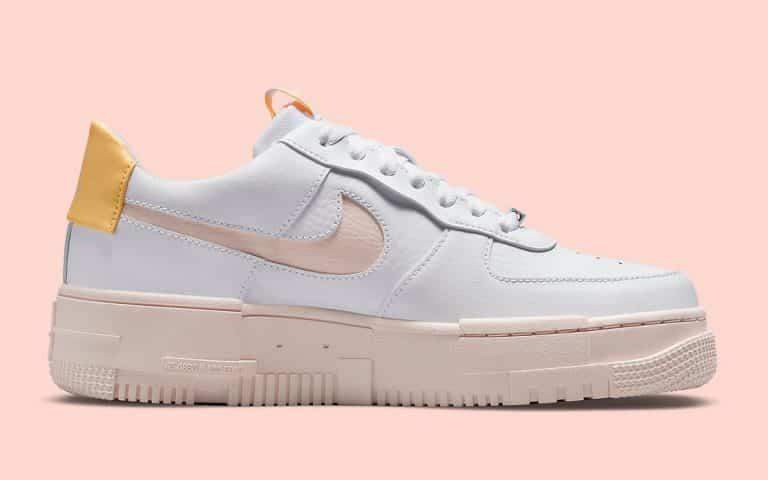 """Nike Air Force 1 Pixel """"Arctic Orange"""" - Le Site de la Sneaker"""