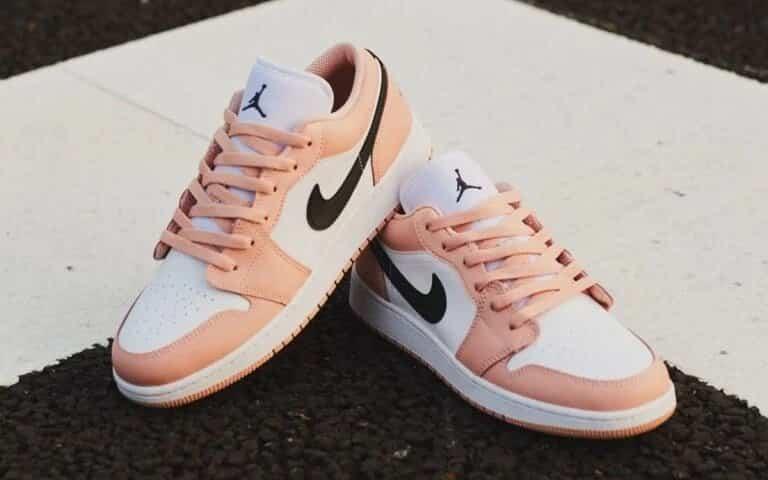 """Air Jordan 1 Low GS """"Light Arctic Pink"""""""